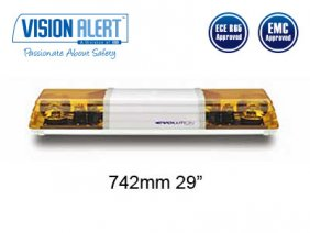 Varningsljusramp 12v Halogen Visionalert 742mm