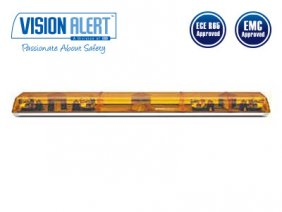 Varningsljusramp 24v Halogen Visionalert 1524mm orange