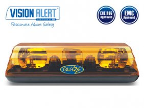 Varningsljusramp 24v Halogen Visionalert 400mm
