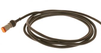 Kanon 2m kabel med DT kontakt - Tillbehör arbetsbelysning HU-62