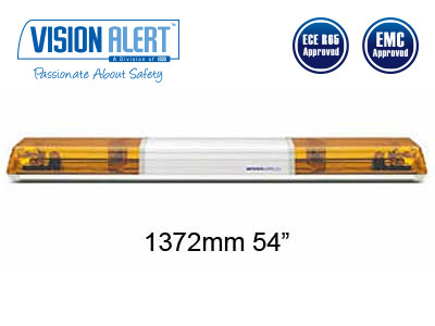 Varningsljusramp 24v Halogen Visionalert 1372mm