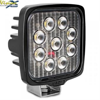 VisionX VL Series Square 9led 45w w/dt front
